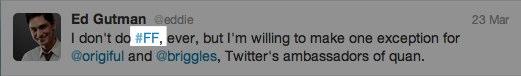 Twitter #ff
