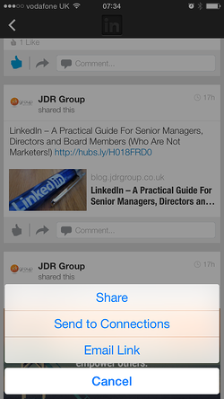How To Share Company Posts On LinkedIn