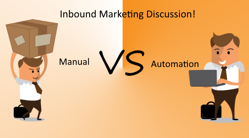 Inbound Marketing Discussion – Manually Inputting Contacts Vs Using Automation To Collect Data