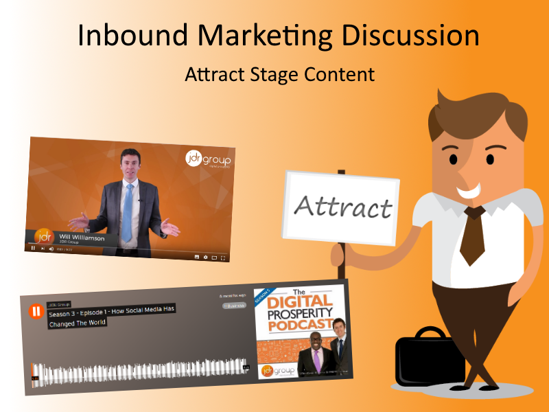 Inbound Marketing Discussion – Which Is The Best Content Format For The Attract Stage
