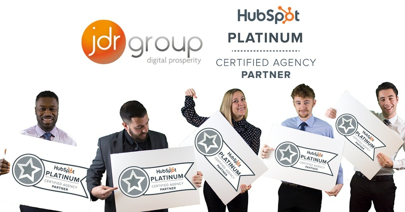 JDR Are Now A HubSpot Platinum Partner!