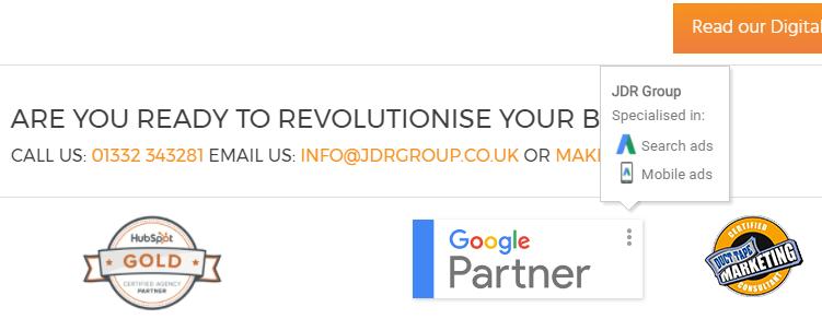 JDR Google Partner badge from the website.png