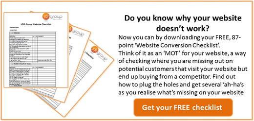Download your FREE Website Conversion Checklist here