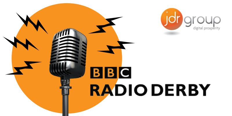 JDR Interviewed on Radio Derby - Harry and Meghan Break Instagram Records